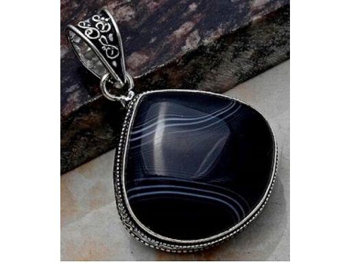 Lux art. zawieszka z kamieni srebro 925