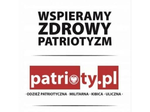 Kurtka patriotyczna, wiatrówka z kapturem gloria p