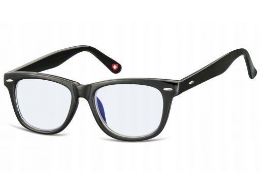 Okulary dziecięce z antyrefleksem nerdy zerówki