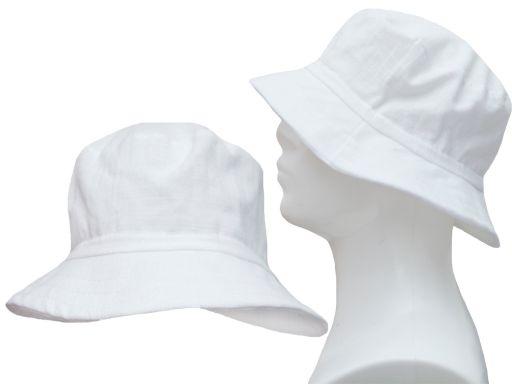 Bawełniany kapelusz 60 płócienny lekki przewiewny