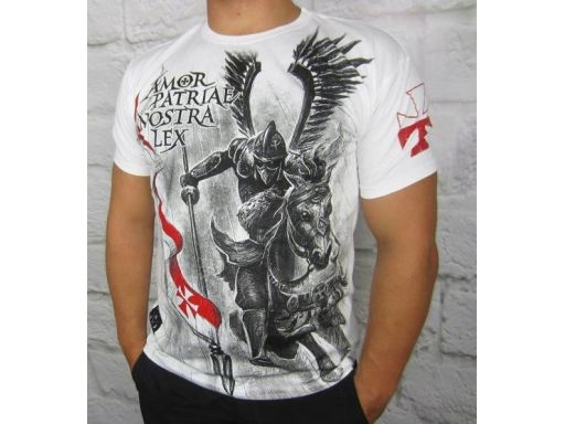 Koszulka patriotyczna husaria amor patriae nostra