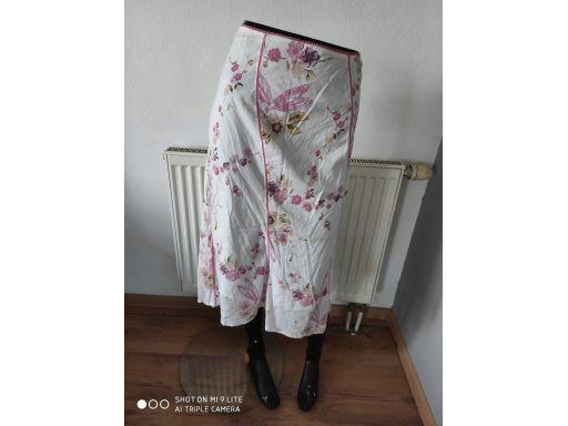 Dunnes stores r.18/46 3xl spódnica s.bdb kwiaty