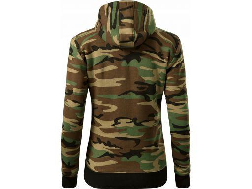 Bluza damska moro camo zipper c20 camouflage 2xl