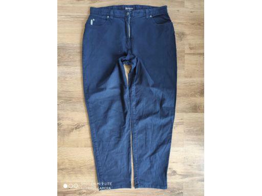 Monsoon r.16/44 xxl jeansy s.bdb spodnie granatowe