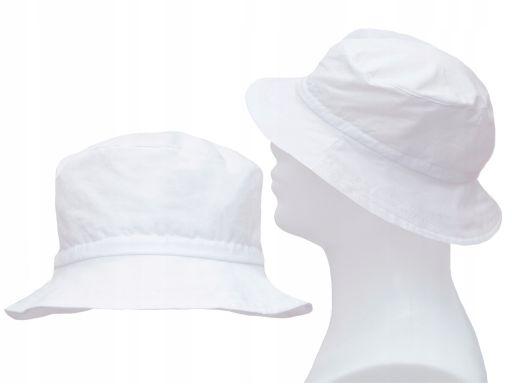 Bawełniany kapelusz płócienny 60 lekki przewiewny