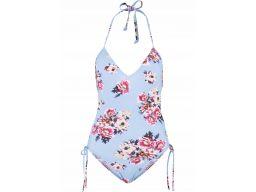 B.p.c strój kąpielowy w kwiaty wiązany na szyi 44
