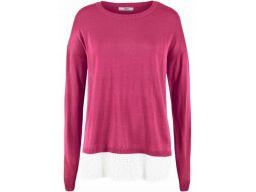 B.p.c sweter z koszulowym dołem r.44/46
