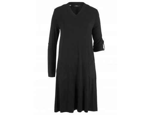 B.p.c sukienka shirtowa czarna r.36/38
