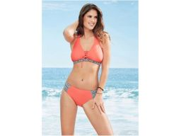B.p.c bikini pomarańczowe wiązane *40