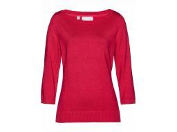 B.p.c damski gładki sweter czerwony r.44/46