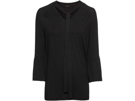 B.p.c bluzka czarna z wiązaniem: r. 40/42