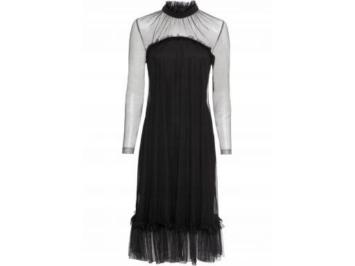 B.p.c sukienka koktajlowa czarna: r. 36/38