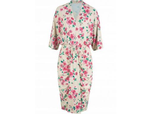 B.p.c sukienka w kwiaty: r. 44/46