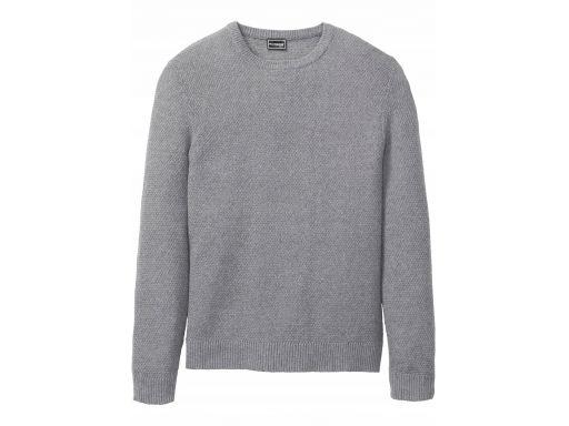 B.p.c męski sweter szary r.44/46