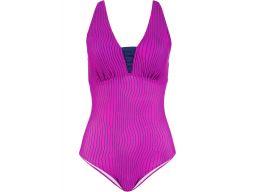 B.p.c strój kąpielowy różowo- czarny 48 (95d)
