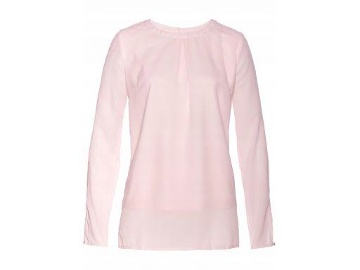 B.p.c bluzka damska różowa z rozcięciami: r. 38
