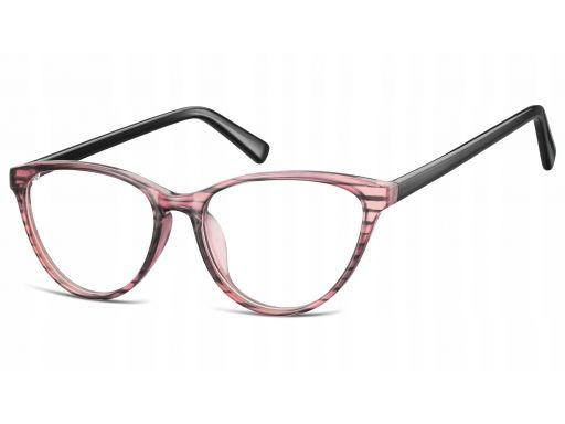 Zerówki okulary oprawki kocie oko korekcyjne