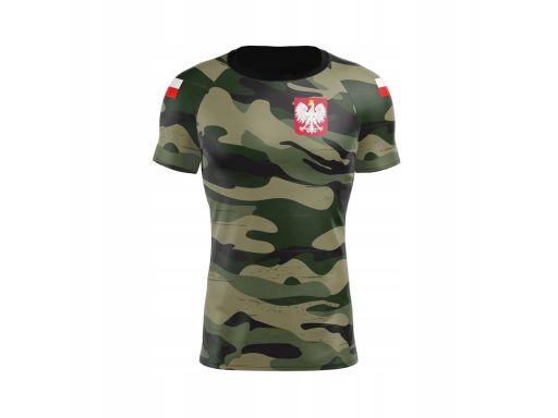 Koszulka termoaktywna camo xl