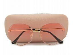 Okulary przeciwsłoneczne damskie sześciokątne