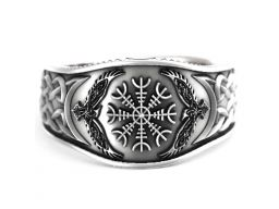 Sygnet nordycki pierścień helm of awe feniks