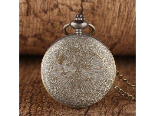 Zegarek kieszonkowy morski żeglarski kotwica