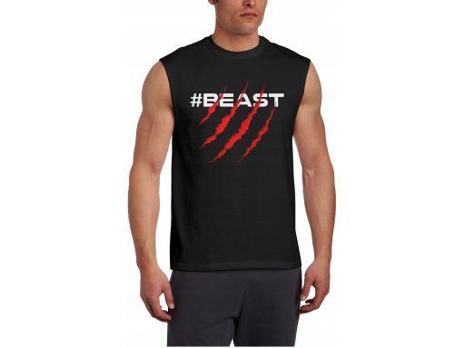 Koszulki t-shirt bez rękawów męski twój nadruk xl