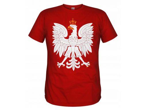 Koszulka patriotyczna orzeł (czerwona) s