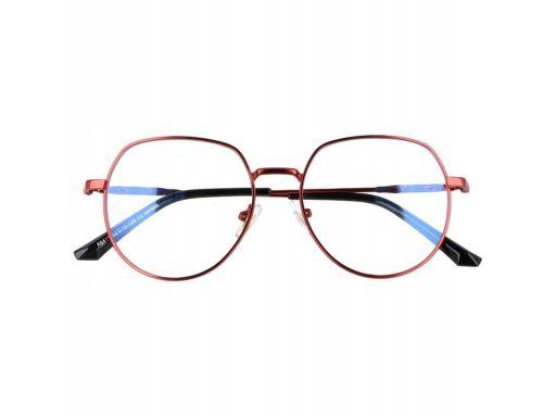 Okulary lenonki z filtrem niebieskim zerówki