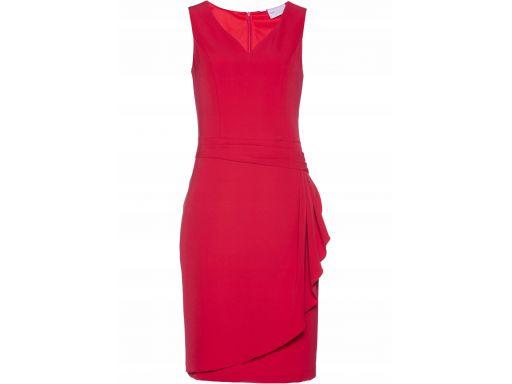 B.p.c sukienka czerwona ołówkowa: r. 40