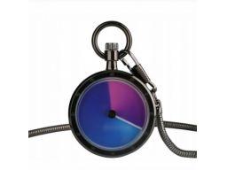 Futurystyczny zegarek kieszonkowy grafitowy #3