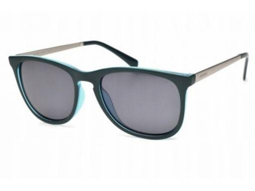 Okulary arctica s-245a polaryzacyjne nerdy zielone