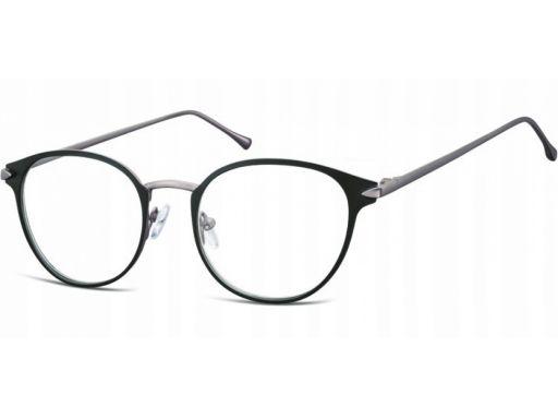 Zerówki okulary oprawki kocie okrągłe korekcyjne