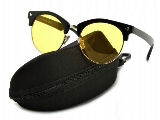 Okulary rozjaśniające dla kierowców pół ramki