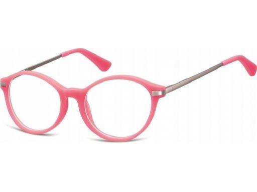 Okulary oprawki lenonki dziecięce zerówki mat