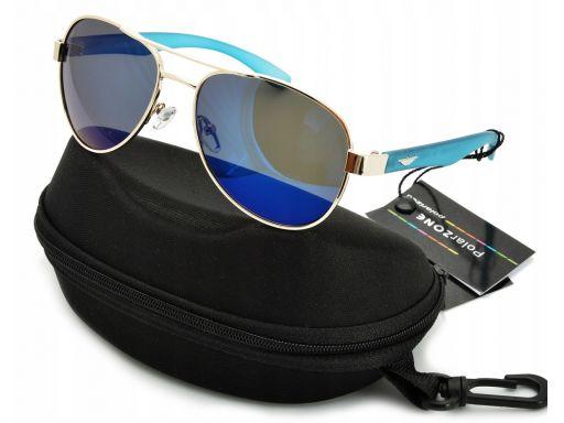 Okulary pilotki lustra polaryzacja dla kierowców
