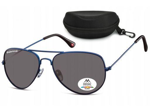 Okulary polaryzacja przeciwsłoneczne pilotki aviat