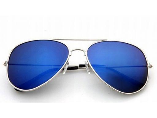 Okulary aviator pilotki przeciwsłoneczne męskie