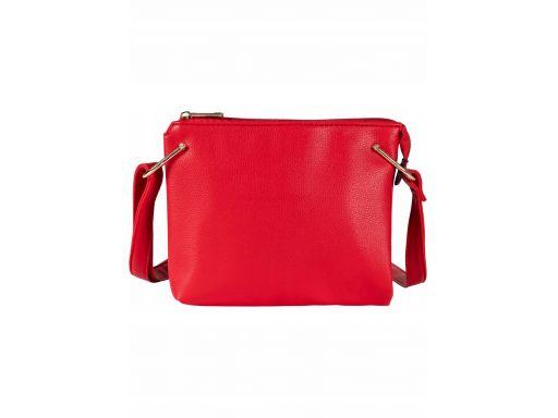 B.p.c mała czerwona torebka na pasku