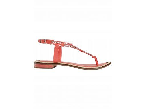 B.p.c skórzane sandały japonki: r. 41