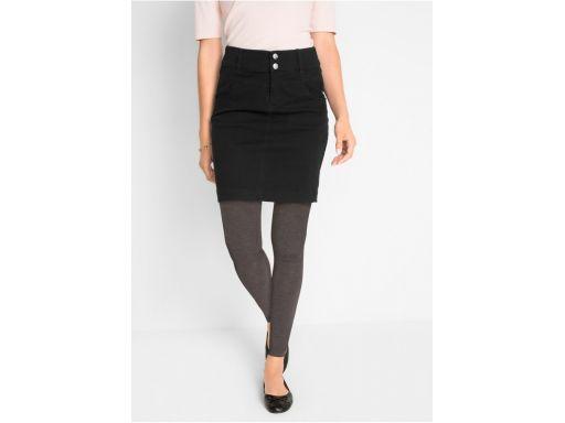 *b.p.c spódnica mini czarna jeansowa *46