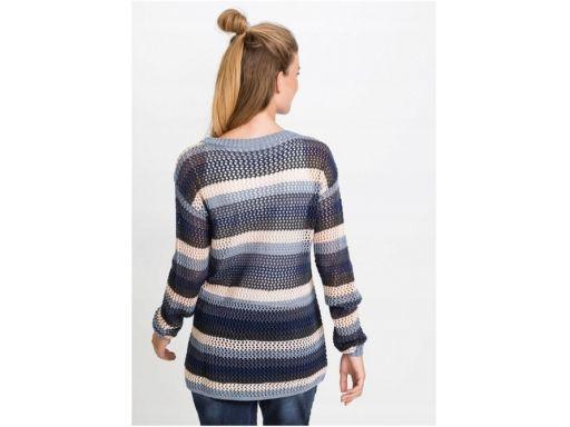 B.p.c sweter pleciony wielokolorowy r.40/42