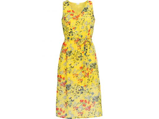 B.p.c sukienka żółta w kwiatki hit: r. 40