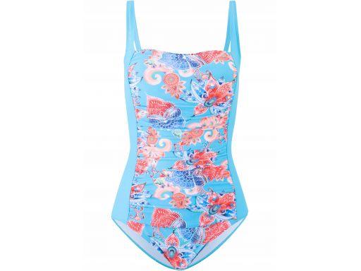 B.p.c strój kąpielowy modelujący niebieski *44