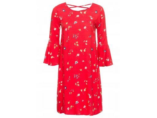 B.p.c sukienka z rękawami z wolantem *36