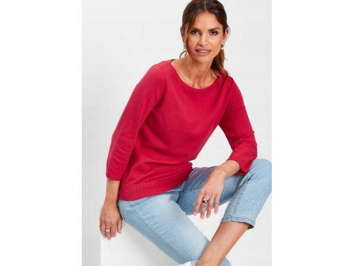 *b.p.c malinowy sweter damski 40/42.