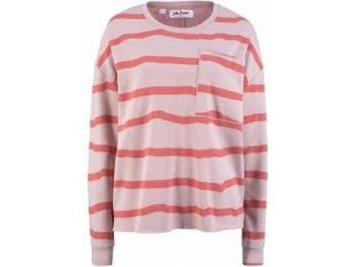 B.p.c bluza beżowa w miedziane paski *44/46