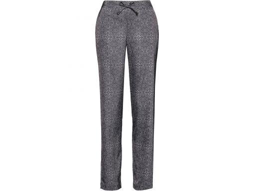 B.p.c. satynowe spodnie z gumką w pasie 44