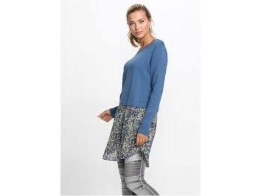 *b.p.c sukienka tunika 2w1 niebieska ^40/42