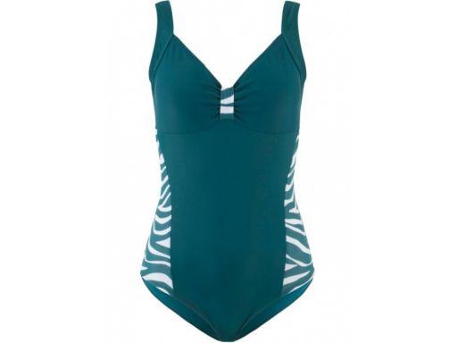 B.p.c strój kąpielowy wyszczuplający zielony *38