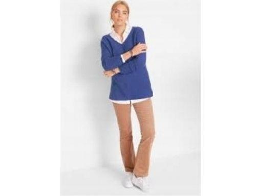 *b.p.c sweter niebieski r.36/38
